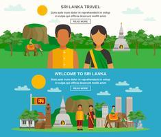 Culture du Sri Lanka vecteur