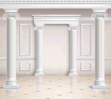 Design de salle classique vecteur