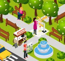 Composition du parc de réalité augmentée
