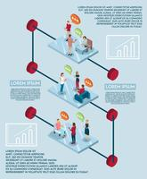 Concept d'infographie de discours électronique
