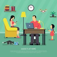 Contexte des gadgets numériques domestiques