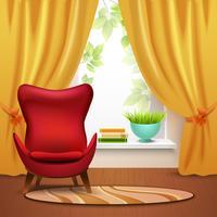 Illustration de l'intérieur de la salle