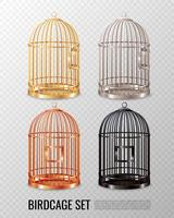 Canary Birdcage 3d set vecteur