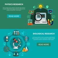 Recherches en sciences naturelles vecteur