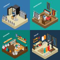 Artisan Isometric Compositions