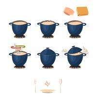 Instructions de cuisson visuelles