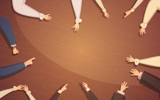 Concept de réunion d'affaires