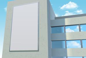 Modèle de panneau d'affichage publicitaire