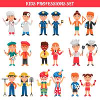 professions enfants set