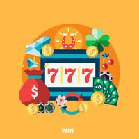 Composition ronde de Casino Pockie Machine
