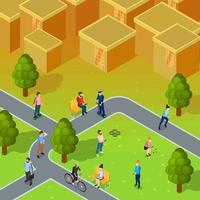 composition de la société de la ville