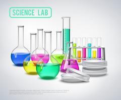 Matériel de recherche Liquides Composition vecteur