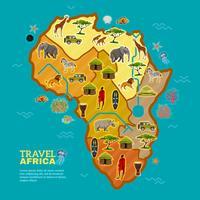 Affiche Voyage en Afrique