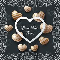 art, vente, amour, saint valentin, joyeux anniversaire - modèle vecteur