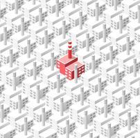 Fond industriel de géométrique