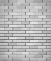 mur de fond sans couture de briques blanches