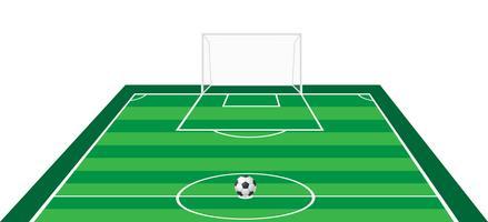illustration vectorielle de football soccer