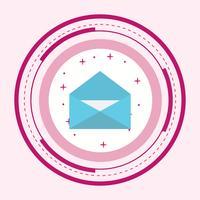 Conception d'icône d'enveloppe