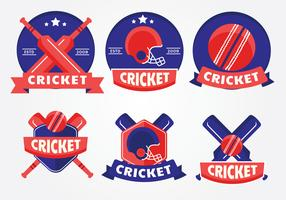 logo de cricket vecteur