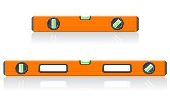 illustration vectorielle niveau outil