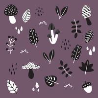 conception de collection automne vector