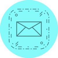 Conception d'icône de boîte de réception