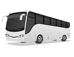 illustration vectorielle de grand tour bus vecteur