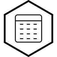 Conception icône calculatrice vecteur