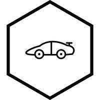 Conception d'icône de voiture de sport