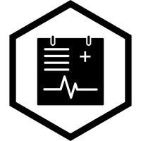 Conception d'icône graphique médical