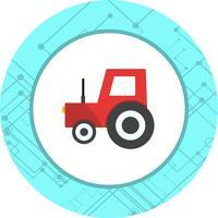 Conception d'icône de tracteur