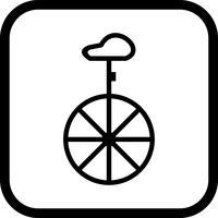 Design d'icône de monocycle
