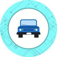 conception d'icône de jeep vecteur