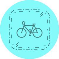Conception d'icône de vélo vecteur
