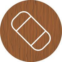 Gomme Icône Design