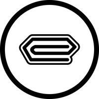 Conception d'icône de broche vecteur