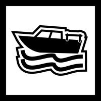 Conception d'icône de bateau