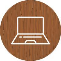 Conception d'icône portable vecteur