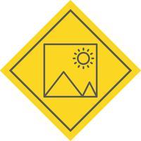 conception d'icône d'image vecteur