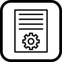 conception d'icône marketing article vecteur