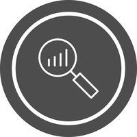 Conception d'icône d'analyse vecteur