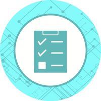 Conception d'icône de liste de contrôle