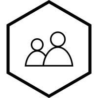 Conception d'icône d'utilisateurs vecteur