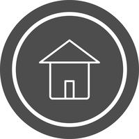 Accueil Icon Design vecteur