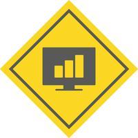Stats Icon Design vecteur