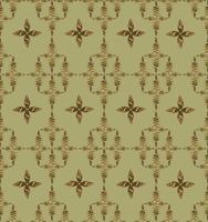 Modèle de tuile floral oriental abstrait. Ornement géométrique.