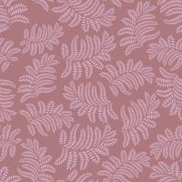 Floral pattern sans soudure. Feuille rétro toile de fond vecteur