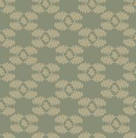 Floral pattern sans soudure. Feuille d'ornement rétro. Flourish feuilles en toile de fond vecteur