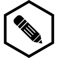 Crayon Icon Design vecteur