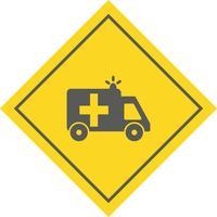 Ambulance Icône Design